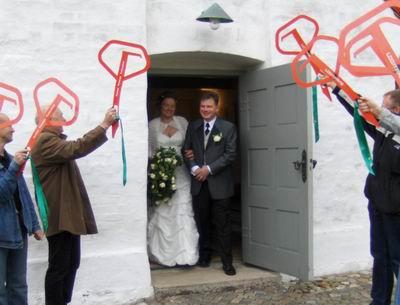 espalier til bryllup